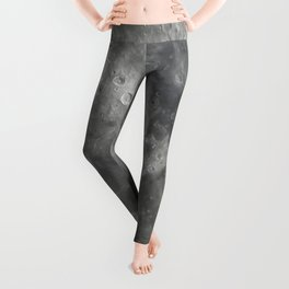 craters on the moon Leggings