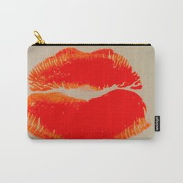 Pure Coral Pout Carry-All Pouch