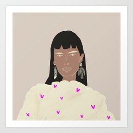 Beauté Art Print