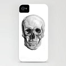 Graphite Skulls iPhone (4, 4s) Slim Case