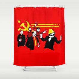 The Communist Party (original) Shower Curtain