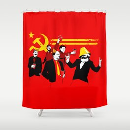 The Communist Party (original) Shower Curtain