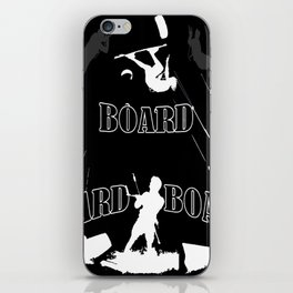 Board Board Board Kiteboarding iPhone Skin