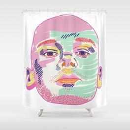 FRANK I Shower Curtain