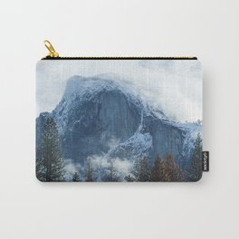 Ice-capped Half Dome at Sunrise | Yosemite National Park, California Carry-All Pouch
