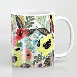 Flower Pugs Coffee Mug
