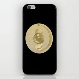 Black Gold Moon and Stars #1 #decor #art #society6 iPhone Skin