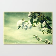 Pretty Wall Flower Canvas Print
