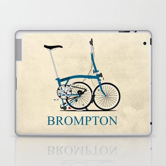 Brompton Bike Laptop & iPad Skin