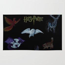 Harry Potter Creatures Rug