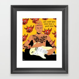 Forget It Framed Art Print