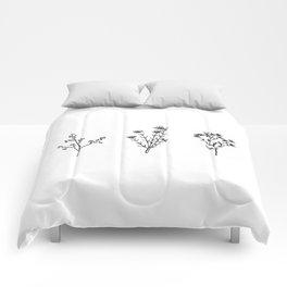 Wildflower Trio Comforters