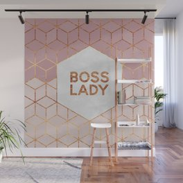 Boss Lady / 2 Wall Mural