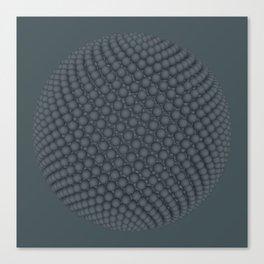 Fibo Orb Slate Canvas Print
