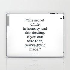 The Quotes #3 Laptop & iPad Skin