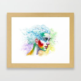 Portrait One Framed Art Print