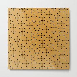 Atomic Era Dots 106 Metal Print