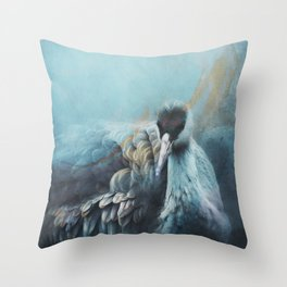 Sandhill Crane 2 Throw Pillow