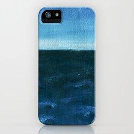 Night sea iPhone Case