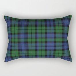 Clan Campbell Tartan Rectangular Pillow