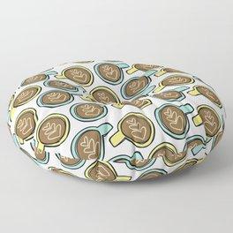 Latte Love Floor Pillow