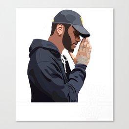 Tiller – TRUE TO SELF 2 Canvas Print