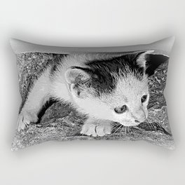 Is it safe? Rectangular Pillow