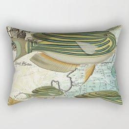 Sturgeon Fish Rectangular Pillow