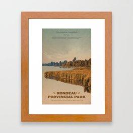 Rondeau Provincial Park Framed Art Print