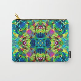 kaleidoscope Crystal Abstract G116 Carry-All Pouch