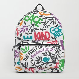 Fruit Of The Spirit (Full Color) Backpack