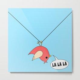 Singing bird Metal Print