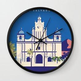 El Salvador Izalco Wall Clock