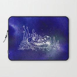 Dino skull – Blue Laptop Sleeve