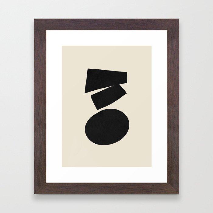 Narrowing down Framed Art Print