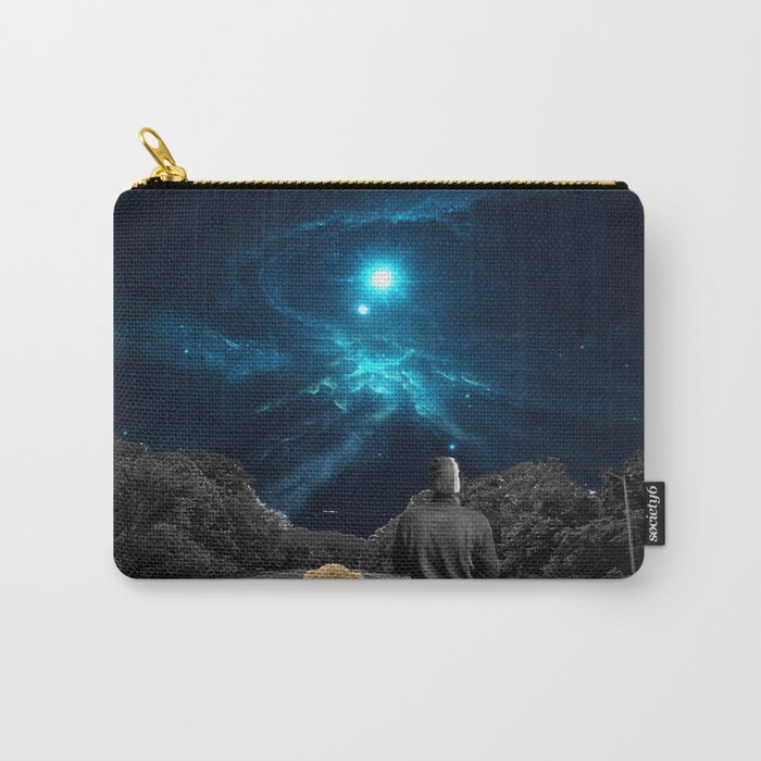 Nebulea and Teddy Carry-All Pouch
