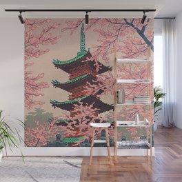 Eight Views of Tokyo - Toshogu Shrine Kasamatsu Shiro Japanese Woodblock Painting Asian Beautiful Wall Mural