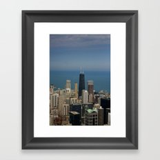 Chi Sky Framed Art Print