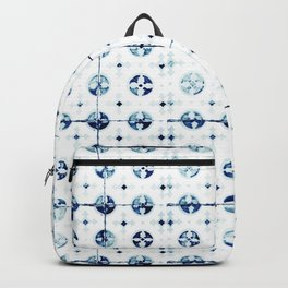 Azulejo I - Portuguese hand painted tiles Backpack