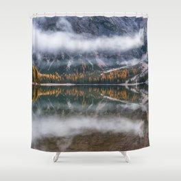 Dolomites 12 - Italy Shower Curtain