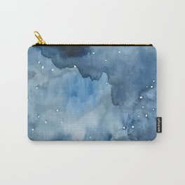Night Tide Watercolor Carry-All Pouch
