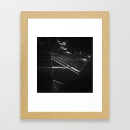 Rosetta mission selfie at 16 km Framed Art Print