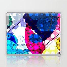 Paisley Pansie Laptop & iPad Skin