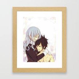 Let's rest.. Framed Art Print