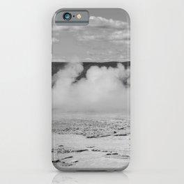 Geyser spewing iPhone Case