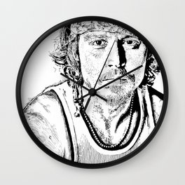 Johnny Wall Clock