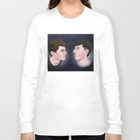 danisnotonfire Long Sleeve T-shirts featuring Dan and Phil by Greenteaelf