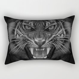 Heart of a Tiger Rectangular Pillow