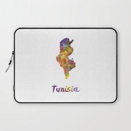 Tunisia in watercolor Laptop Sleeve