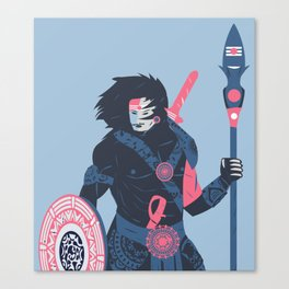 The Warrior Within Canvas Print